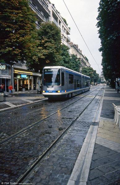 Car 2014 in Avenue Alsace Lorraine on 2nd September 1989.