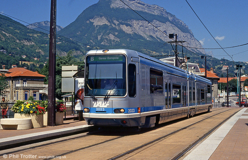 Grenoble 2023 at La Tronche on 28th July 1993.