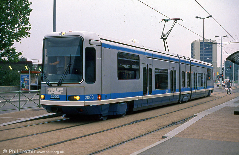 Car 2003 at Fontaine la Poya on 2nd September 1989.