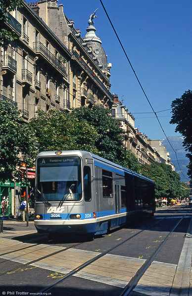 Grenoble 2024 at Avenue Alsace Lorraine on 28th July 1993.