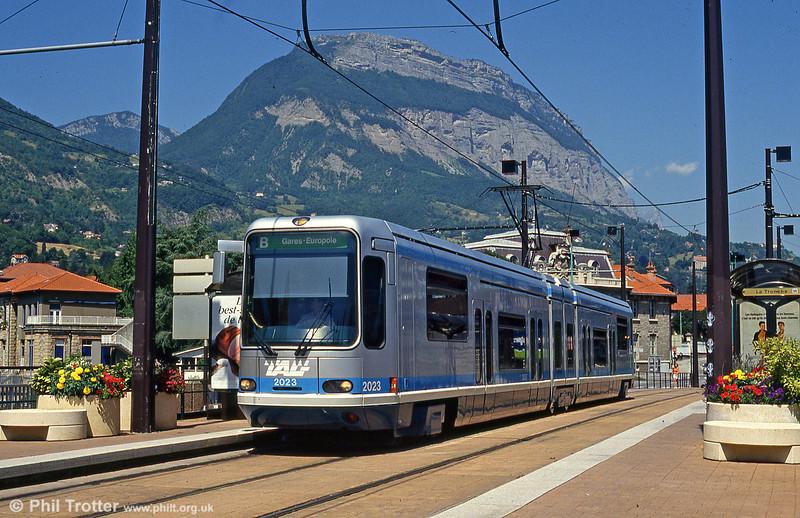 Grenoble 2023 at La Tronche on 28th July 1993.