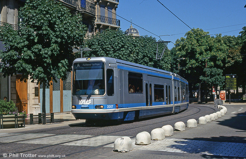 Grenoble 2007 at Avenue Alsace Lorraine on 28th July 1993.