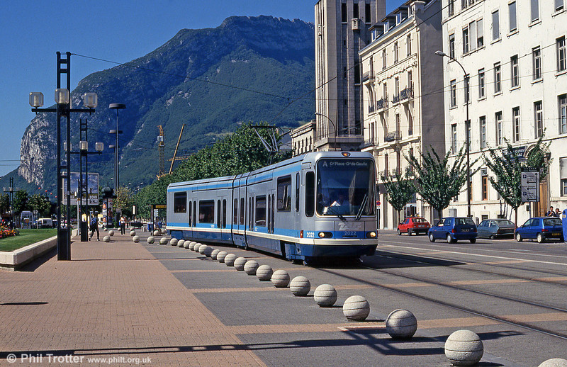 Grenoble 2022 near Gares Europoles on 28th July 1993.