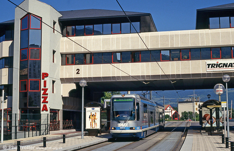 Grenoble 2035 at Grand Sablon on 28th July 1993.