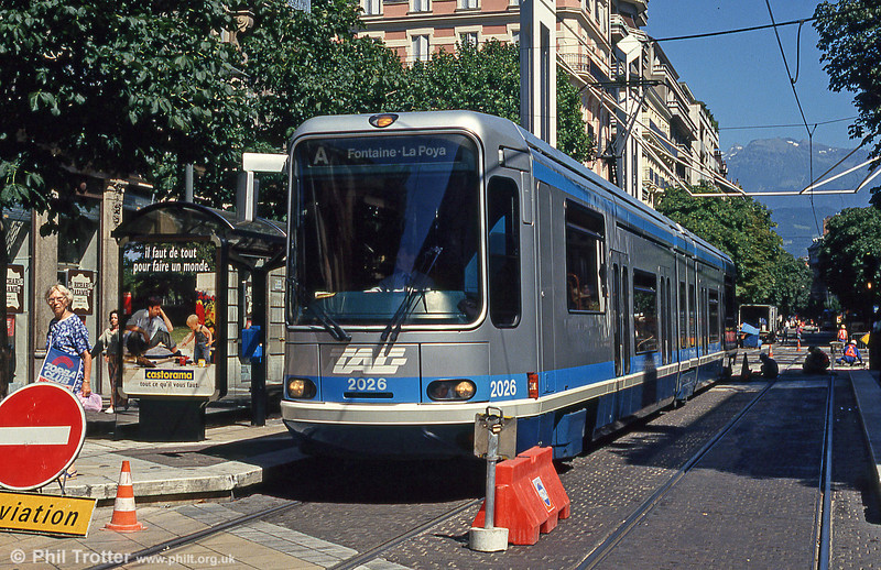 Grenoble 2026 at Gambetta on 28th July 1993.