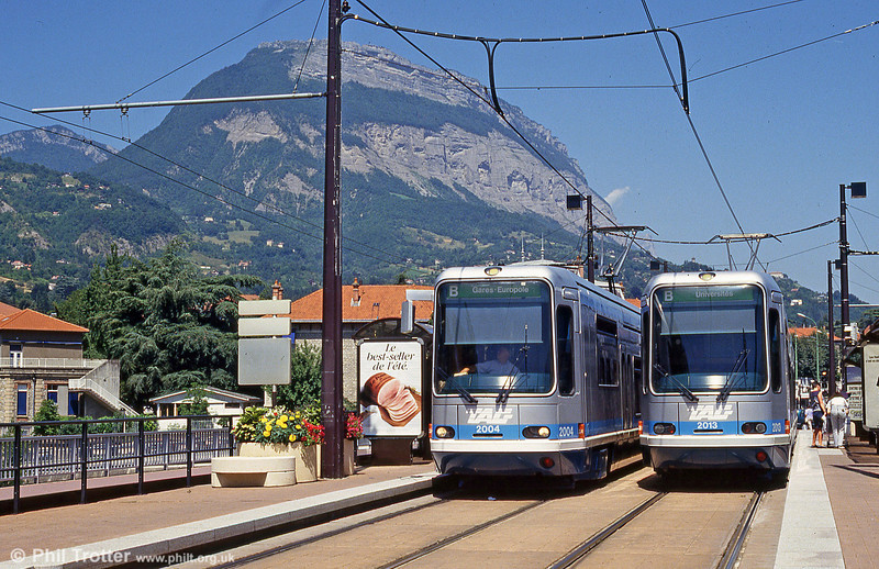 Grenoble 2004 and 2013 at La Tronche on 28th July 1993.