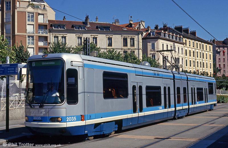 2035 at Place de la Gare on 28th July 1993.