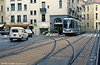 Car 2012 at Rue Raoul Blanchard, the junction for line B on 2nd September 1989.