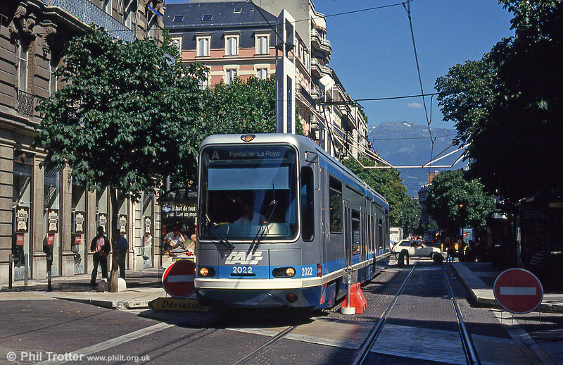 Grenoble 2022 at Gambetta on 28th July 1993.