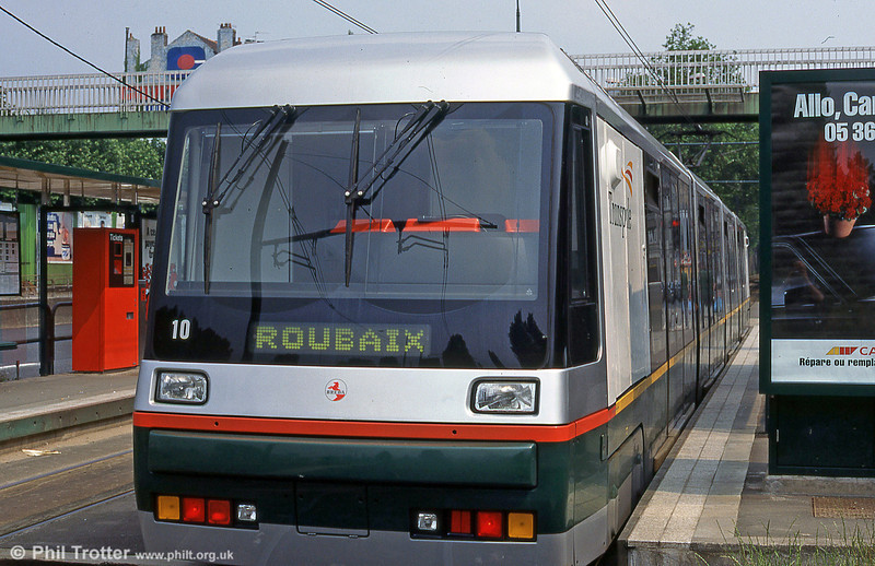 Lille Breda car 2010 at Romarin in August 1995.