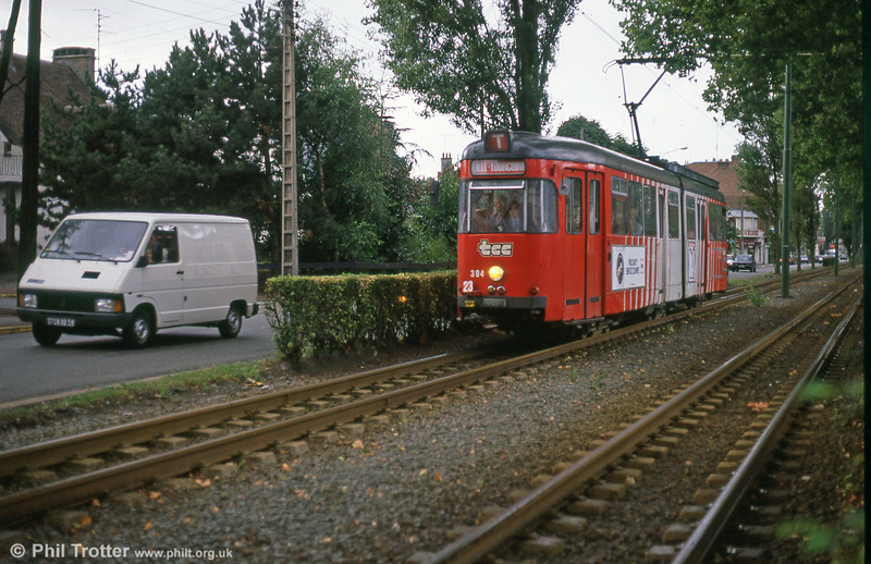 Lille 394 at Croise Laroche, 28th August 1989.