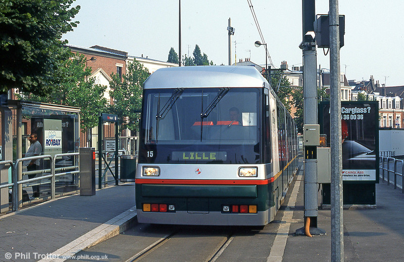 Lille car 2011 at Roubaix in August 1995.