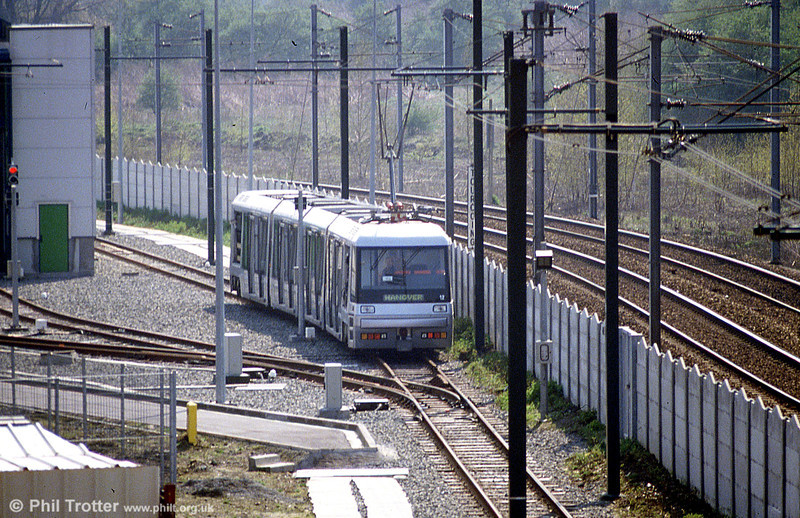 An early preview of new Breda car 2012 on 11th April 1994.