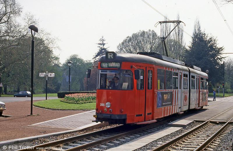 Lille 395 at Parc Barbieux on 11th April 1994.