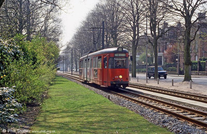 Lille car 372 at Parc Barbieux on 11th April 1994.