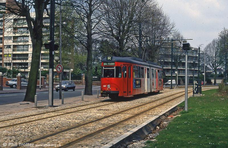Lille 397 at Parc Barbieux on 11th April 1994.