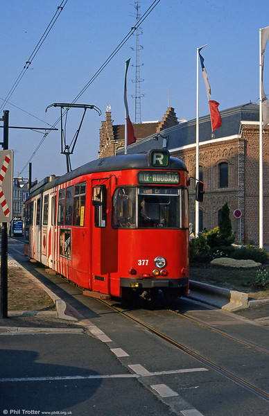Lille 377 at Roubaix on 11th April 1994.