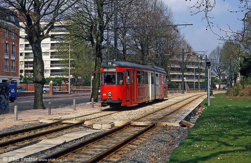 Lille 374 at Parc Barbieux on 11th April 1994.