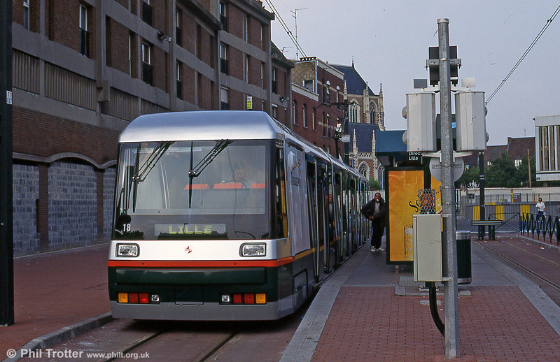Lille 2018 at the new terminus at Roubaix in August 1995.