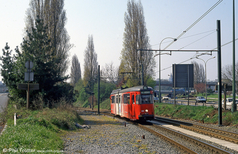 Lille 369 at Romarin on 11th April 1994.