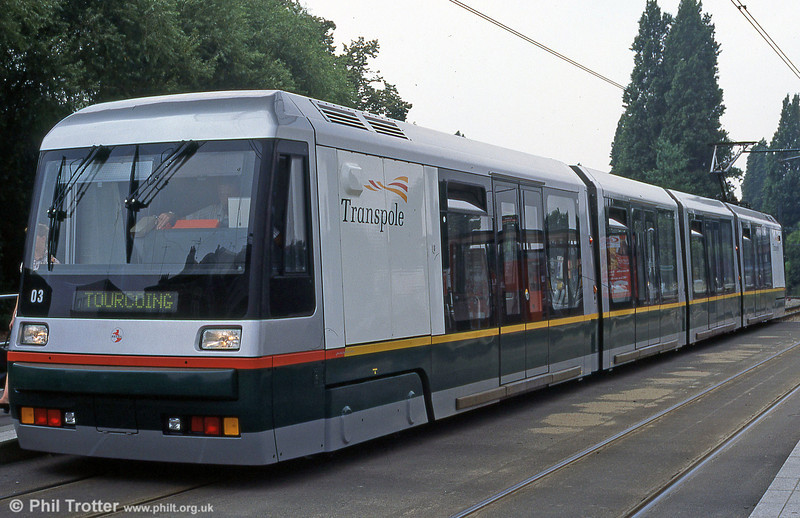 Lille Breda car 2003 at Romarin in August 1995.