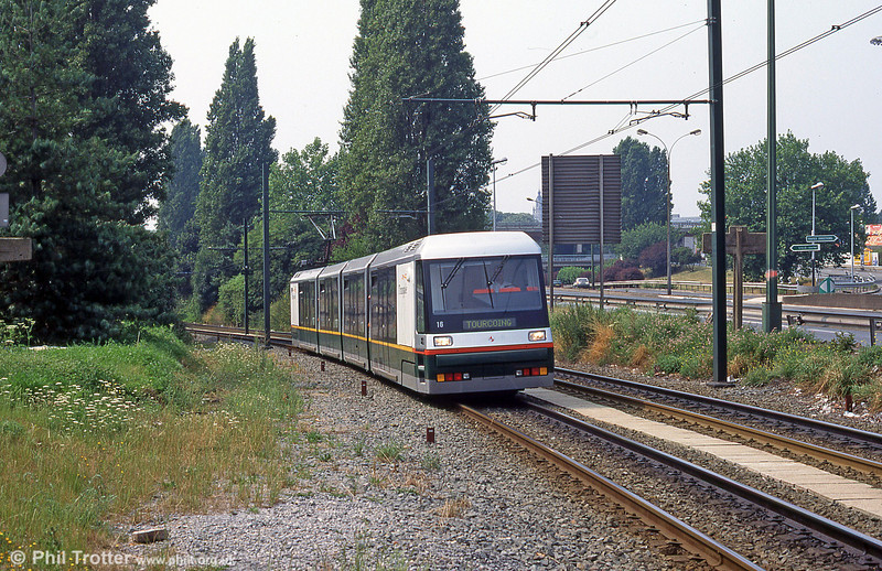 Lille Breda car 2016 at Romarin in August 1995.