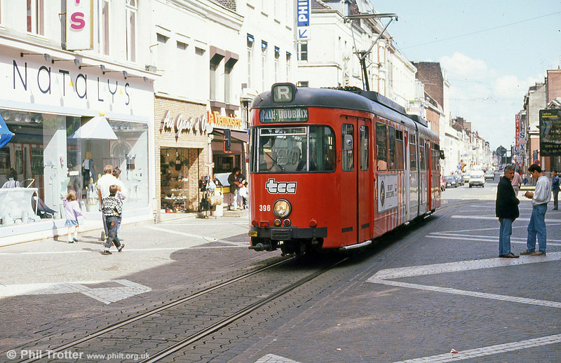 Car 396 at Roubaix on 28th August 1989.