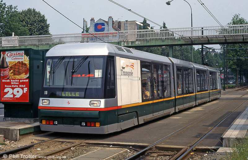 Lille Breda car 2015 at Romarin in August 1995.