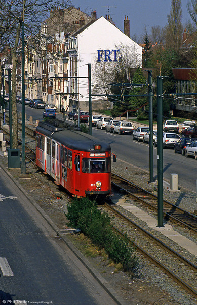 Lille 392 at Buisson on 11th April 1994.