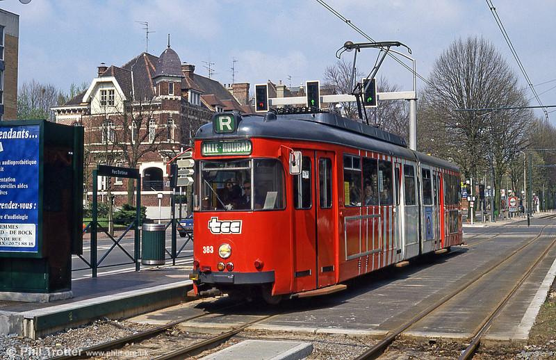 Lille 383 at Parc Barbieux on 11th April 1994.