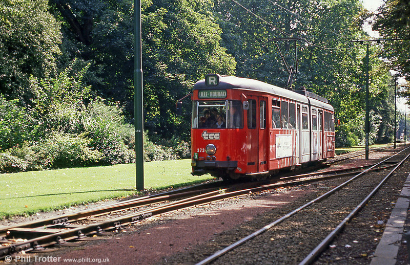 Lille 373 at Parc Barbieux on 28th August 1989.