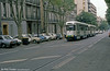 Marseille PCC cars in Boulevard Chave on 1st September 1989.