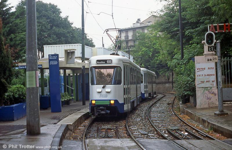 Gare de la Blancarde in August 1995.