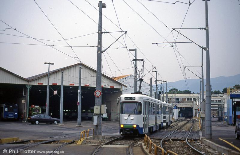 A scene outside St. Pierre depot in August 1995.