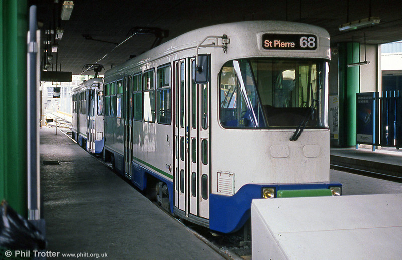 The Marseille PCC cars ran in pairs -these are seen at St. Pierre on 1st September 1989.