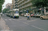 Marseille PCC cars head along Boulevard Chave on 1st September 1989.