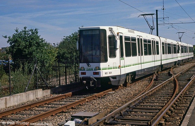Car 301 at Haluchere on 29th August 1989.
