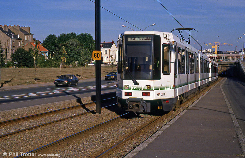 Nantes 318 at Du Chaffault on 29th August 1989.