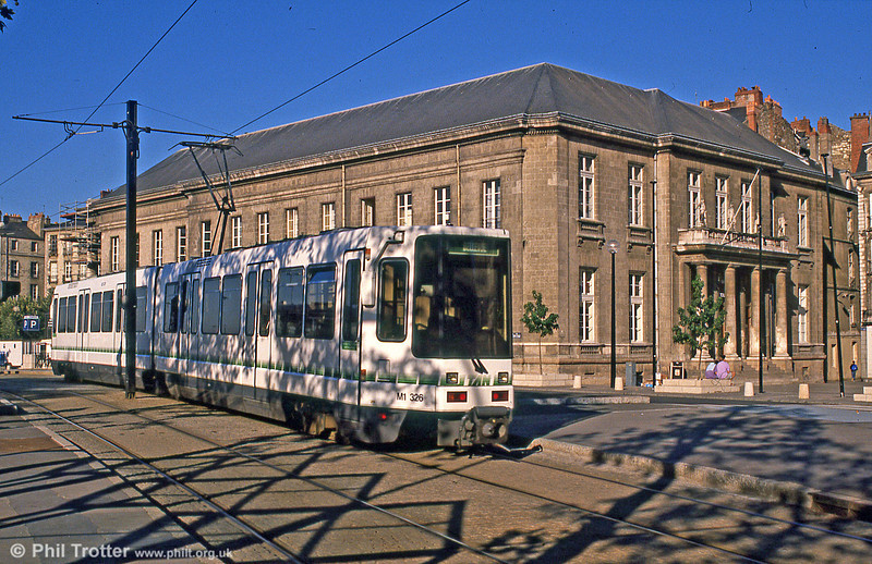 Car 311 near Commerce on 29th August 1989.