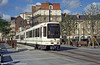 Nantes car 325 at 50 Otages on 26th July 1993. (First published in Light Rail & Modern Tramway, 3/94).