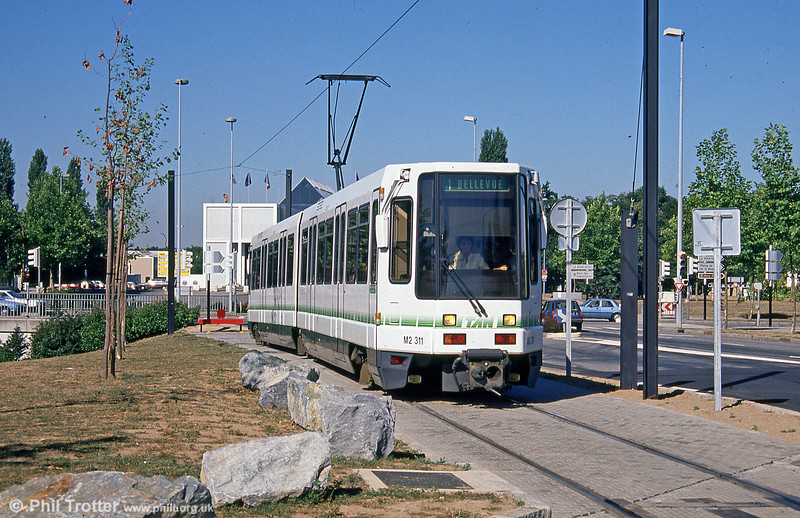 Car 311 at Beaujoire on 29th August 1989.