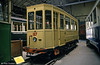 The original tramway at Nantes was electrified in 1914-15 during the First World War. A fleet of 100 standard cars, all on Brill trucks with vestibuled platforms was used. This is 127, built in 1913 and seen at the Paris Transport Museum in July 1984.