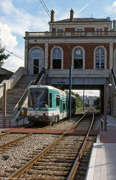 Paris line T2 car 212 at Meudon-sur-Seine on 7th September 1997.