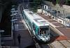 Paris line T2 car 213 at Meudon-sur-Seine on 7th September 1997.