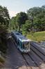 Paris line T2 car 213 at Les Milons on 7th September 1997.