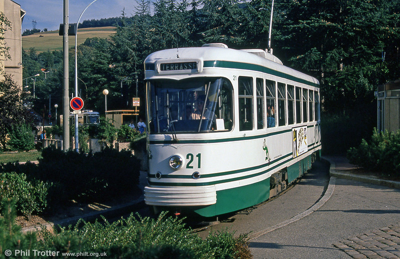 Car 521 at Solaure on 31st August 1989.