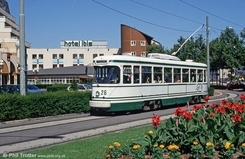 St. Etienne 526 near Terrasse on 29th July 1993.