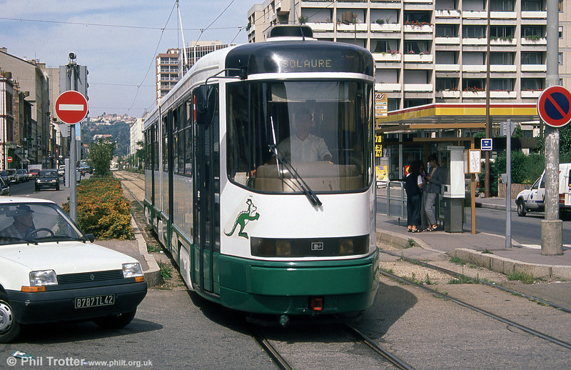 Car 001 at Rue Barra on 31st August 1989.
