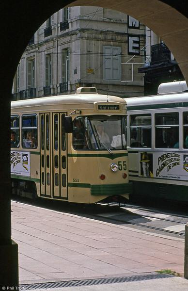 555 near Hotel de Ville on 31st August 1989.
