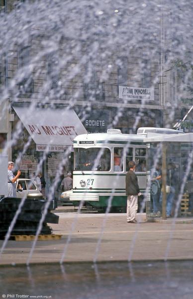 527 at Hotel de Ville on 31st August 1989.